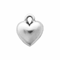 Sterling Silver Small Heart Charm