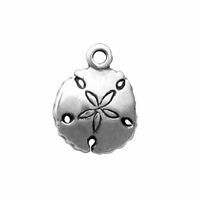 Sterling Silver Small Sand Dollar Charm