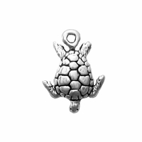 Sterling Silver Small Sea Turtle Charm