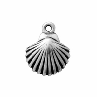 Sterling Silver Small Shell Charm