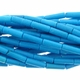 Turquoise Blue 4x13mm Tube Beads 16 inch Strand