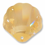 40mm Swarovski 6723 Shell Crystal Pendants Crystal Golden Shadow