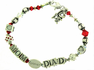 Mom and Dad Bracelet