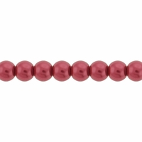 Pearls Imitation Rose 4mm Round Beads (100PK)