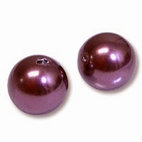 6mm Bordeaux Swarovski 5810 Crystal Pearls (50PK)