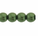 Pearls Imitation Olivine  8mm Round Beads (50PK)