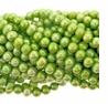Lt. Green 6-7mm Potato Freshwater Pearl Beads Strand