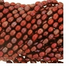 Cranberry Rice Freshwater Pearl 4-5mm Bead Strand