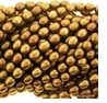 Coppery Bronze Rice Freshwater Pearl 6-7mm Bead Strand