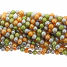Multi-Color Potato Freshwater Pearl 5-5.5mm Bead Strand