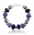 Metropolitan Large Hole Beaded Bracelet Design Idea