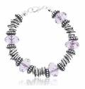 Alexandrite Dreams Large Hole Beaded Bracelet Design Idea