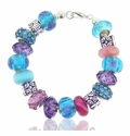 Azure Garden Large Hole Bracelet Design Idea