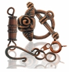Antique Copper Plated Clasps &  Toggles
