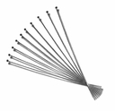 Gun Metal Plated 2 inch Ball End Head Pins (10PK)