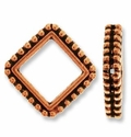 Antique Copper Beaded Frames