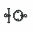 Black Finish Classic Clasp Set