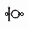 Black Finish 1/2 Inch Anna's Toggle Clasp