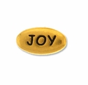 Pewter Gold Joy Bead