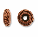 Antique Copper Small Woodland Bead