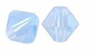 Air Blue Opal 5328 6mm Swarovski Crystal XILION Bicones Beads (10PK)