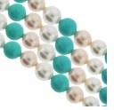 Multi Color 701 8mm South Sea Pearls 16-Inch Strand