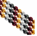 Multi Color 304 4mm South Sea Pearls 16-Inch Strand