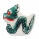 Porcelain Dragon 22x21mm Bead (2PK)
