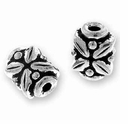 Antique Silver Leaf Bead
