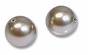 8mm Bronze Swarovski Crystal Pearls (50PK)