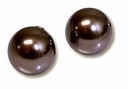 8mm Deep Brown Swarovski 5810 Crystal Pearls (50PK)