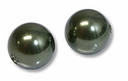8mm Dark Green Swarovski 5810 Crystal Pearls (50PK)