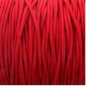 Red 2mm Waxed Cotton Craft Cord (1YD)