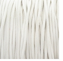 White 2mm Waxed Cotton Craft Cord (1YD)