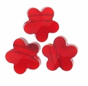 6mm Light Siam Swarovski Crystal  5744 Flower Bead (1PC)