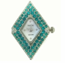 Diamond Blue Zircon Austrian Crystal Watch Face