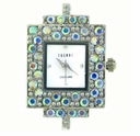 Rectangle Crystal Austrian Crystal AB Watch Face