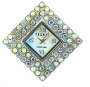 Large Diamond Crystal AB Austrian Crystal Watch Face