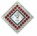 Large Diamond Crystal/Lt. Siam Austrian Crystal Watch Face