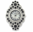 Diamond Jet Flower Watch Face