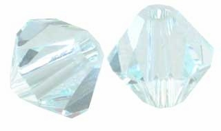 Light Azor 5328 6mm Swarovski Crystal XILION Bicones Beads (10PK)