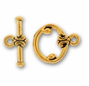 Antique Gold Classic Clasp Set