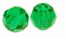 Majestic Crystal® Green 6mm Faceted Round Crystal Beads (24PK)