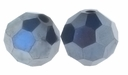 Majestic Crystal® Hematite 6mm Faceted Round Crystal Beads (24PK)