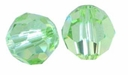 Majestic Crystal� Peridot 8mm Faceted Round Crystal Beads (24PK)