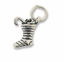 Christmas Stocking Sterling Silver Charm