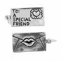 Love Letter Sterling Silver Charm