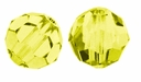 Jonquil 8mm Swarovski 5000 Round Crystal Beads (1PC)