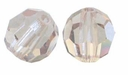 Light Colorado Topaz 8mm Swarovski 5000 Round Crystal Beads (1PC)