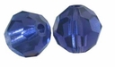 Purple Velvet 8mm Swarovski 5000 Round Crystal Beads (1PC)